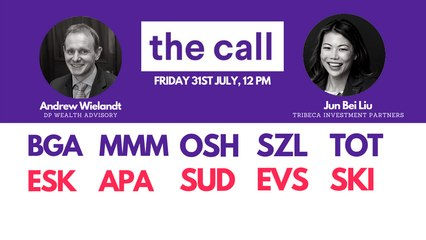 The Call: Friday 31 July