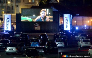 A look at KL's first drive-in cinema