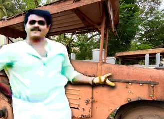 The famous road roller from 'Vellanakalude Nadu' auctioned for Rs 1.99 lakh