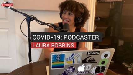 COVID-19: Podcaster Laura Robbins