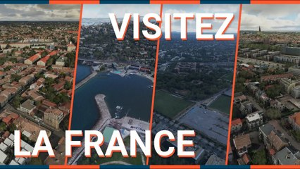 MICROSOFT FLIGHT SIMULATOR : 9 VILLES FRANÇAISES à EXPLORER