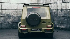 "BRABUS 700 WIDESTAR BY FOSTLA - COVERING ""TACTICAL GREEN"""