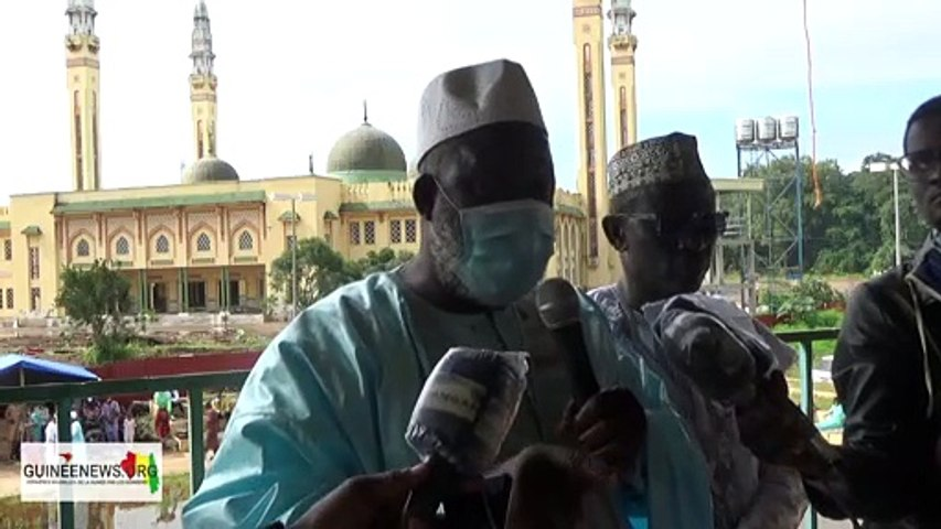 Fête Aïd el-Kebir : le Premier imam Saliou Camara donne le profil du candidat qui doit avoir le pouvoir en Guinée