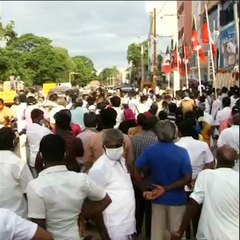 No physical distancing, masks askew: Thousands gather to welcome Sellur Raju in Madurai