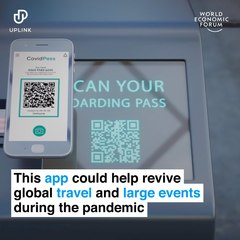This app could help revive global travel and large events during the pandemic