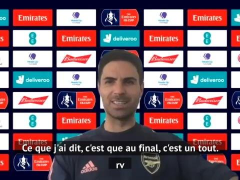 """Arsenal - Arteta : """"Un titre pourrait encourager Aubam à rester"""""""