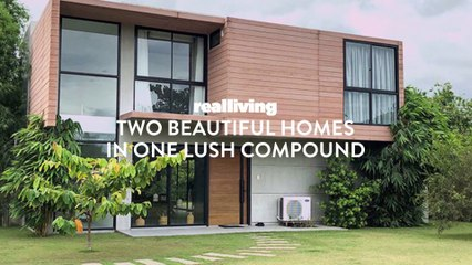 Two Beautiful Homes in One Lush Compound