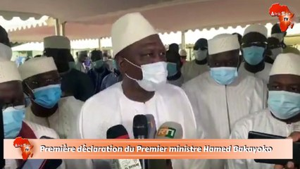 Première déclaration du Premier ministre Hamed Bakayoko après sa nomination