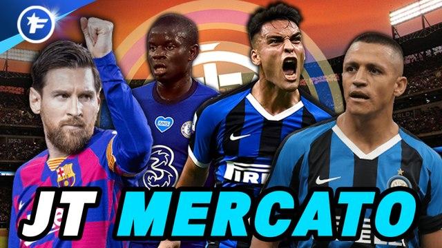 Journal du Mercato : l'Inter tente l'impossible, coup de chaud à Lille