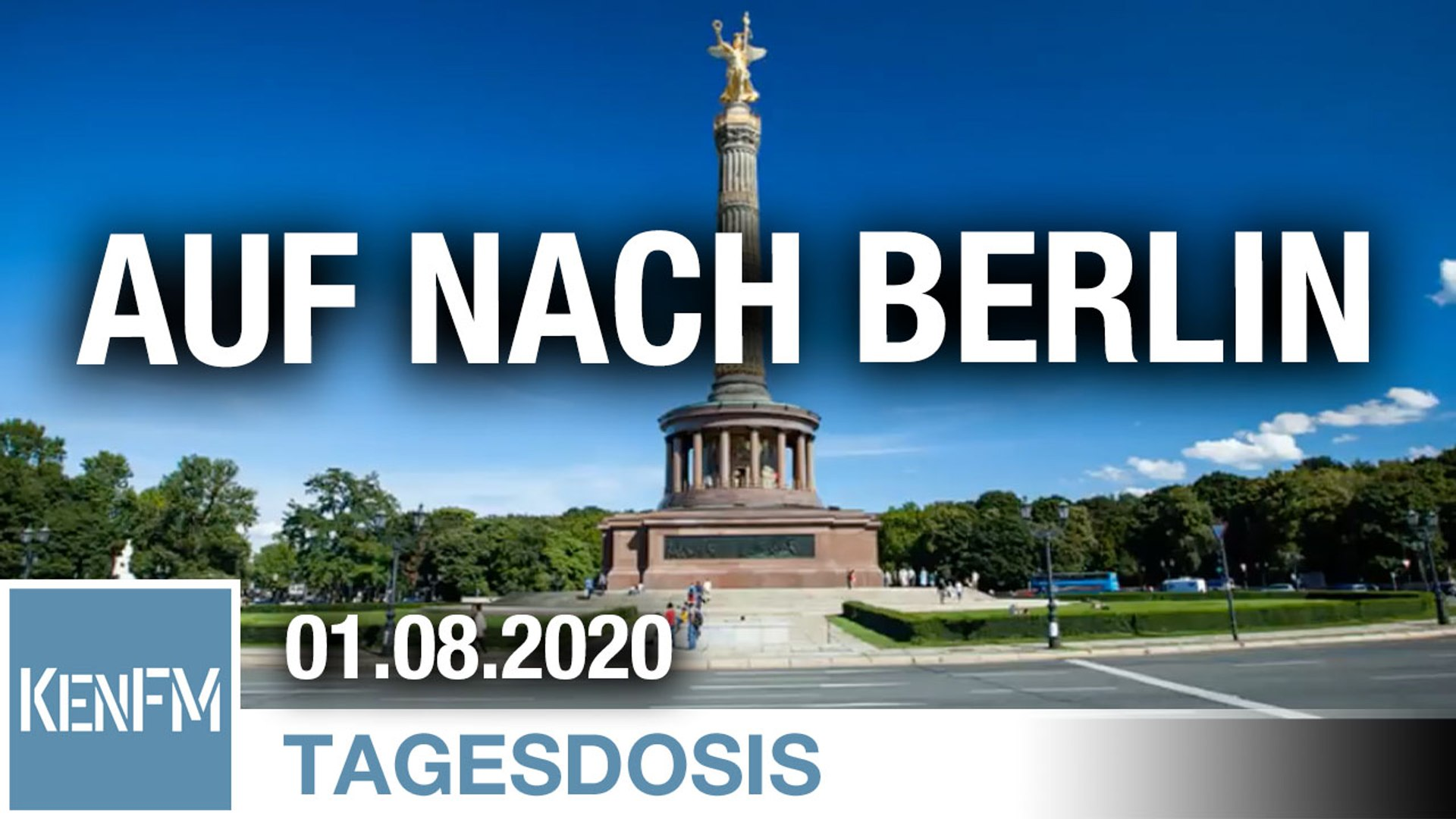 Auf nach Berlin – Wir bleiben Menschen und lassen uns nicht zu Biorobotern umprogrammieren!