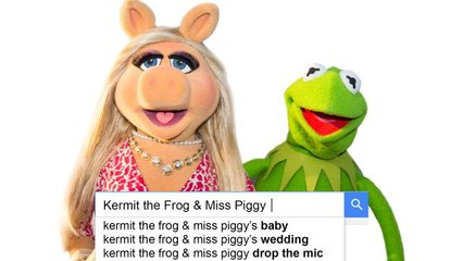 Kermit & Miss Piggy Answer the Web's Most Searched Questions