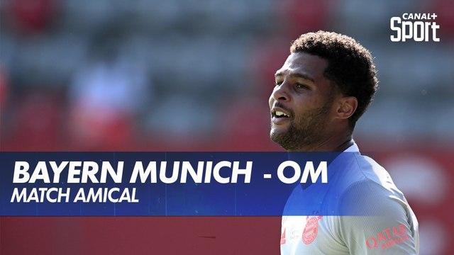 Victoire du Bayern de Munich en amical face à Marseille
