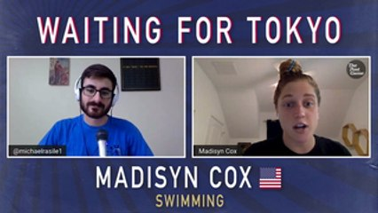 "Swimmer Madisyn Cox ""Going All In"" On The 2021 Olympics"