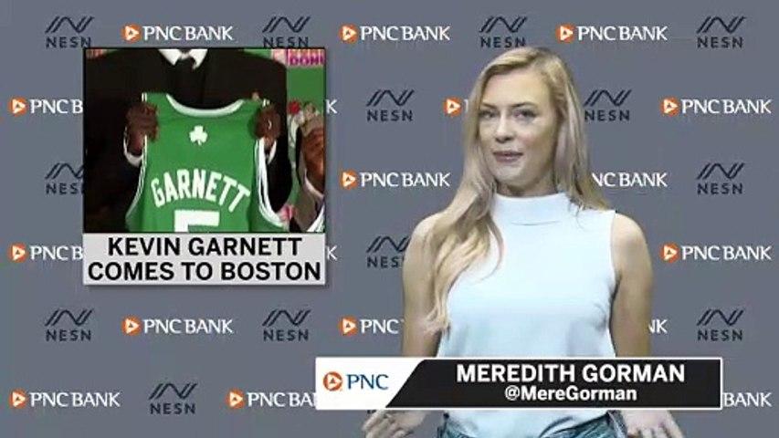 Relive The Celtics Signing Kevin Garnett In 2007