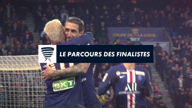 Le parcours des finales - Coupe de la Ligue BKT