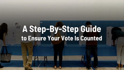 Make Sure You're Counted