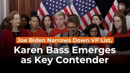 Joe Biden Gives New VP Details