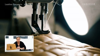 How a $3,000 Chanel bag is professionally restored