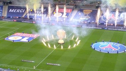 La cérémonie d'ouverture de la finale de la Coupe de la Ligue BKT 2020