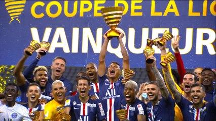 Le Paris Saint-Germain remporte la dernière édition de la Coupe de la Ligue BKT - Finale 2020