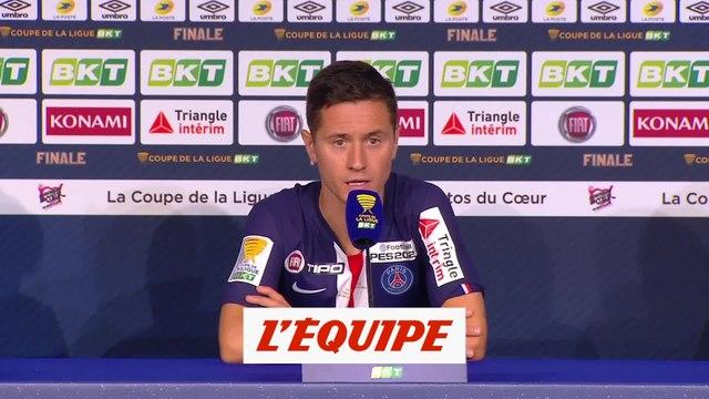 Herrera : « On peut être très contents » - Foot - C. Ligue - PSG