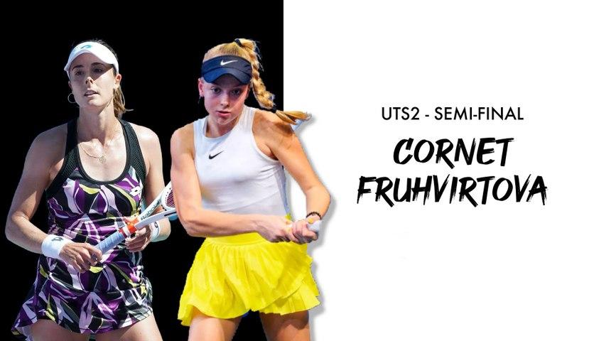 UTS2 - Day 3 Preview: Brenda Fruhvirtova vs Alizé Cornet