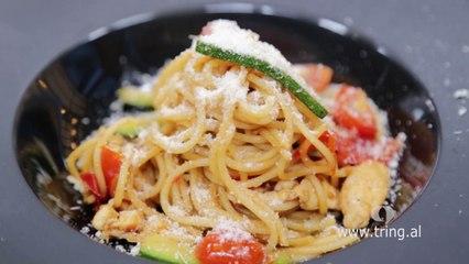 Receta në 2 minuta - Spaghetti Primavera