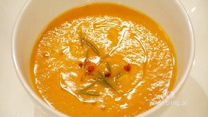 Receta në 2 minuta - Supë me karrota dhe portokall