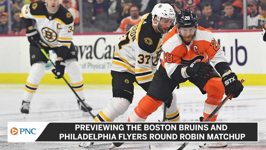 Previewing The Boston Bruins and Philadelphia Flyers Round Robin Match-Up