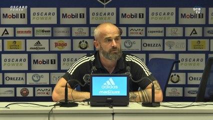 Bastia 2-2 Montpellier : Conf. d'après-match de M. Chabert
