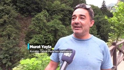 'Mavigöl' turkuaz rengiyle doğal güzelliğine büründü