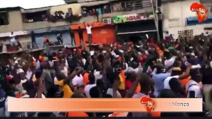 Drogba dépose sa candidature à la FIF dans une folle ambiance