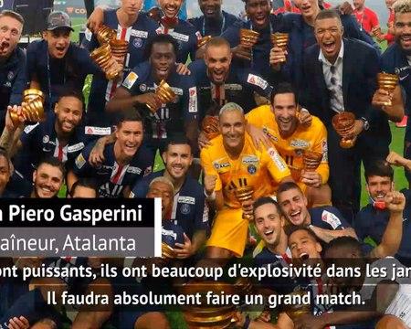 """Huitièmes - Gasperini : """"PSG, un match très difficile"""""""