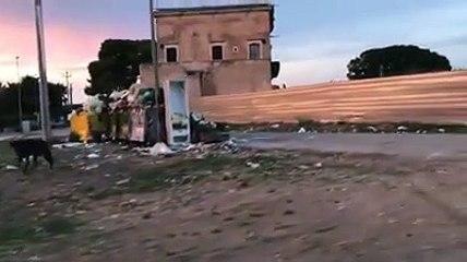 Andria: rifiuti a borgata Troianelli