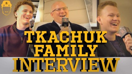 Spittin' Chiclets Interviews The Tkachuk Boys - Full Video Interview