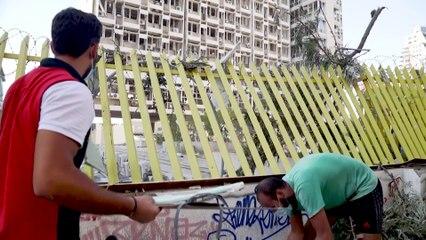 Beirut intenta recuperarse tras explosiones en el puerto