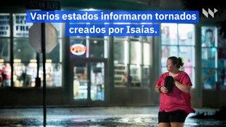 El huracán Isaias deja al menos 6 muertos, millones sin electricidad en la costa este de EE.UU