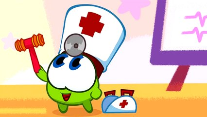 Om Nom Stories: Nibble Nom - An apple a day - Funny cartoons for kids