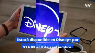 Disney lanzará la nueva pelicula de