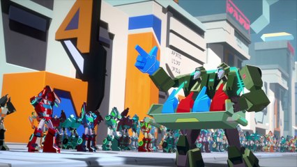 Transformers: Cyberverse - [Season 3 Episode 5]: The Loop