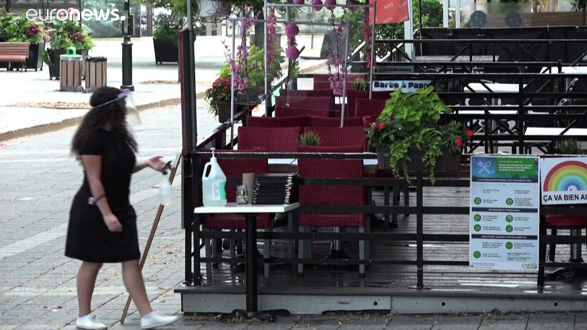 صيف كئيب  في غياب الزوار الأجانب بسبب كوفيد-19  في مونتريال