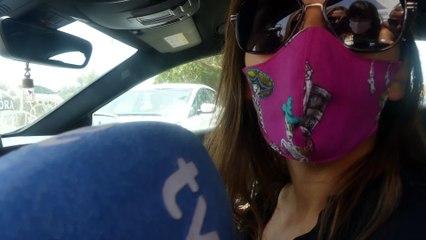 Irene Rosales llega a Cantora para el cumpleaños de Isabel Pantoja