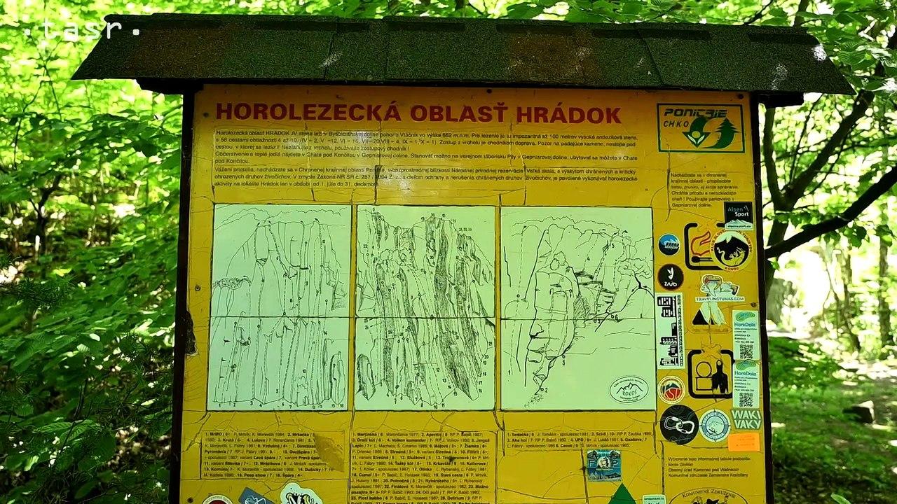 Hrádok je po Tatrách druhou najvyššou lezeckou oblasťou na Slovensku