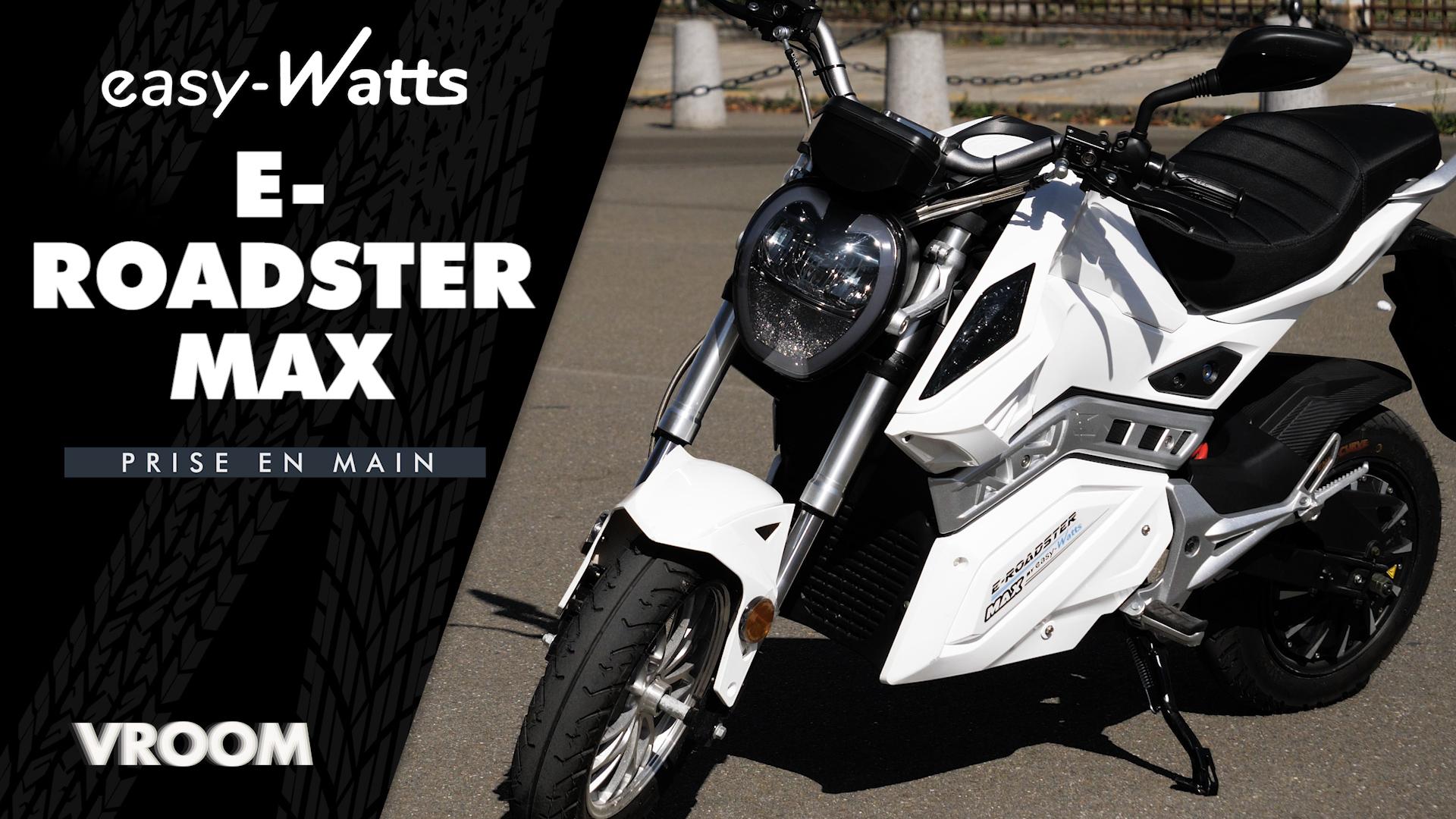 Test E-Roadster Max : la moto électrique puissante en manque de finesse