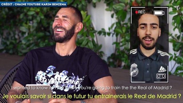 Karim Benzema rêve d'entraîner un jour le Real Madrid