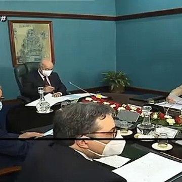 رئيس الجمهورية يترأس إجتماعا للمجلس الأعلى للأمن