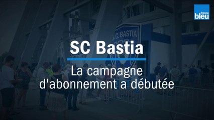 """SC Bastia : """"beaucoup d'espoir"""" pour la campagne d'abonnement 2020-2021"""
