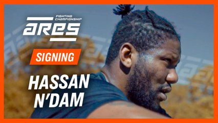 Hassan N'Dam signs with ARES FC