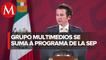 Grupo Multimedios se suma al Aprende en Casa; televisión, poderoso vehículo para educación: Francisco D. González Albuerne