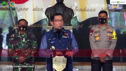 Gubernur Jawa Barat, Ridwan Kamil (tengah)